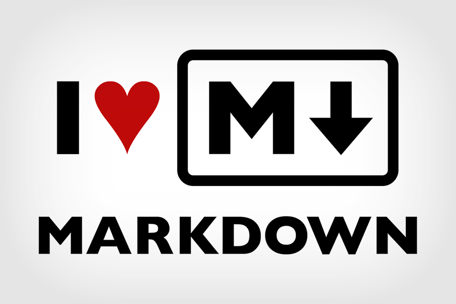 I love markdown written as I